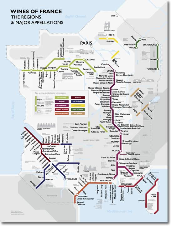 Harta Metroului Vinului Din Franta Vinul Din Cluj