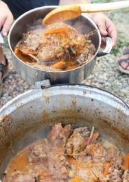 tocana de berbecut / mutton stew