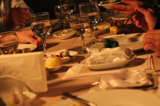 dinner in Izmir