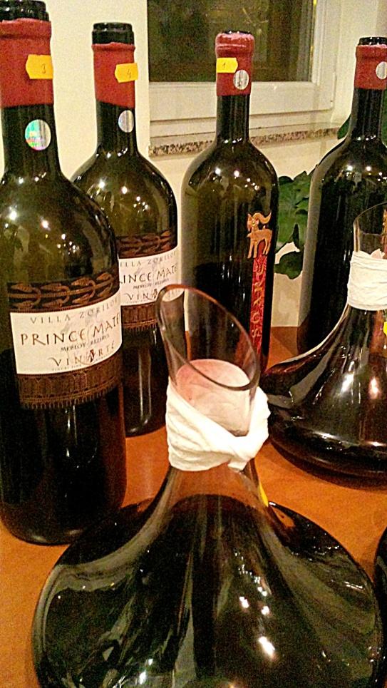 aerisirea vinului