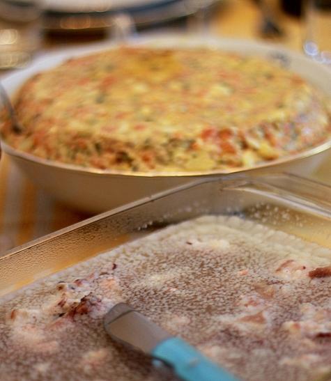 piftie de curcan si salata de boeuf