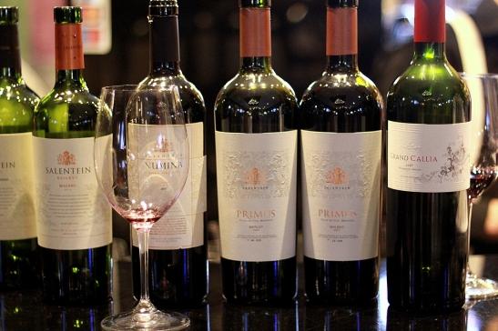red wines Salentein