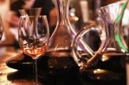 wine tasting preparations
