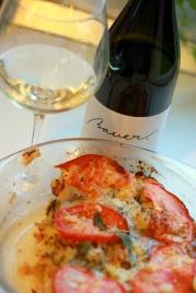 Bauer Sauvignon Blanc 2012 si paste la cuptor