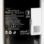 prince Matei Merlot 2000