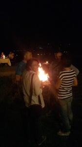 petrecere pe deal