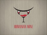 Romanian wine theme logo