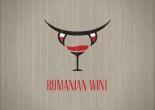 Romanian wine theme logo