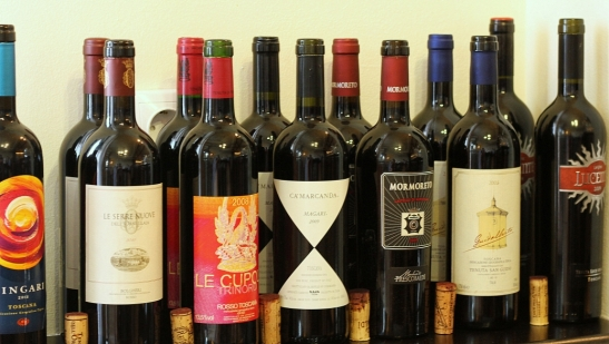 vinuri rosii Italia