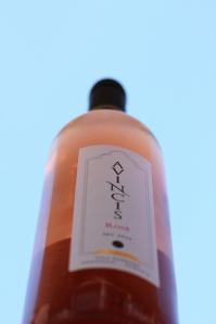 sticla de vin rose