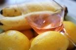 pahar de vin si fructe