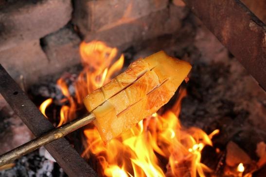slanina pe foc