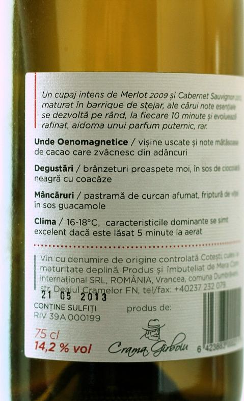 Crama Girboiu vin