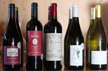sticle de vinuri naturale