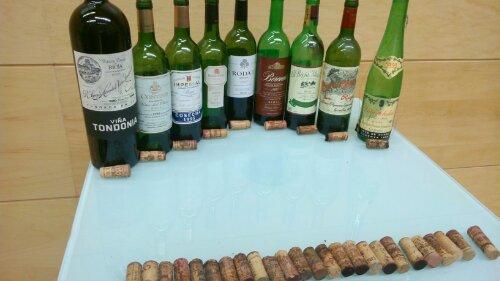 vintage rioja wines