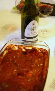 Pinot Noir 2011 si peste cu sos de rosii