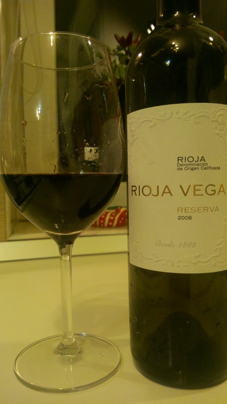 red Spanish wine