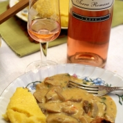 vin rose cu mamaliga