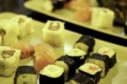 selectie de sushi