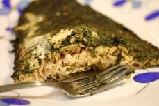 somon in crusta de ierburi provensale