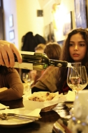 servirea vinului