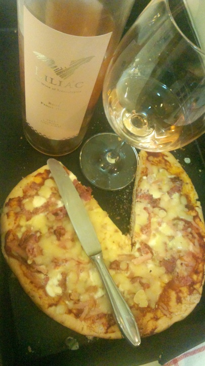 Pizza si Liliac Rose 2013