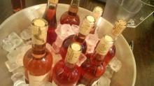 sticle de rose la rece