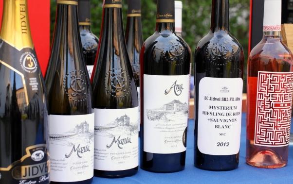 vinuri Jidvei la degustare