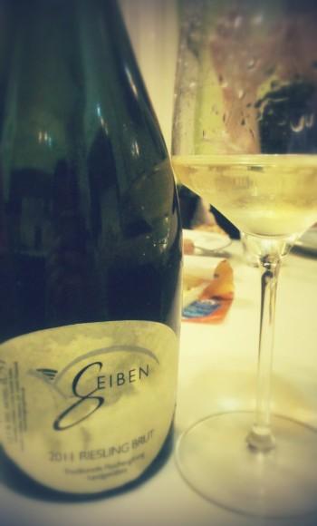 #spumant #Riesling 2011 brut #Geiben