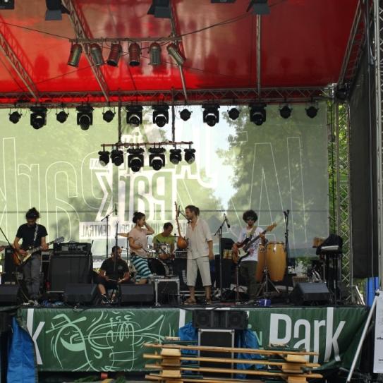 scena Jazz in the Park