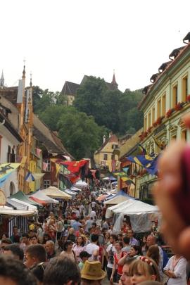 aglomeratie la festival