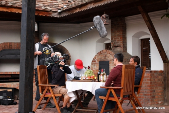 filmare la castel