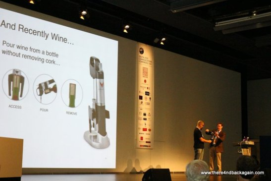 Speech about Coravin