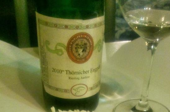 Auslese 2010 Thornicher Engass