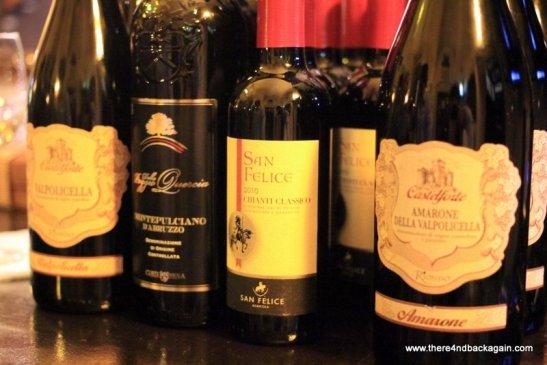 vinuri rosii italiene