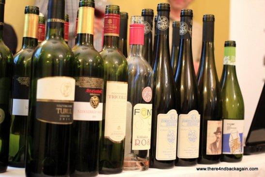 selectie de vinuri maghiare