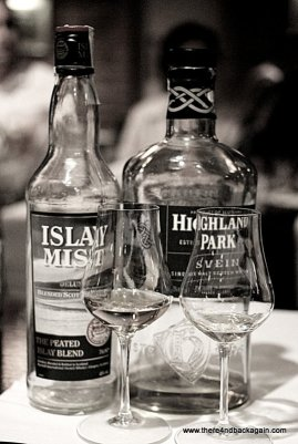 Islay Mist & Highland Park