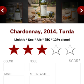 Winebook rating si impresii