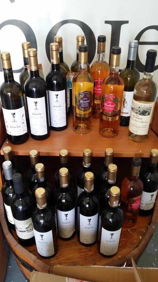 vinuri de la Domeniile Boieru