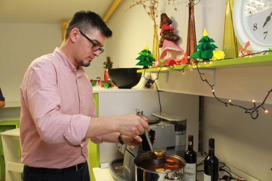 prepararea vinului fiert