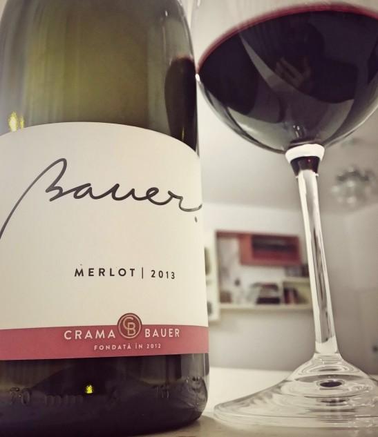 2013 Merlot Crama Bauer