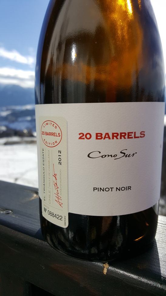 20 Barrels Cono Sur Pinot Noir
